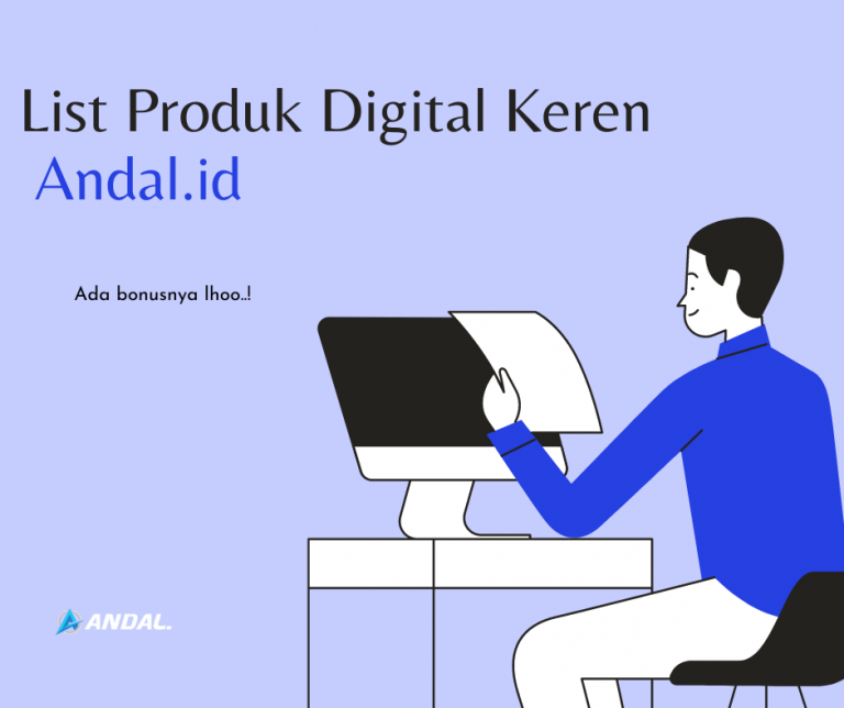 Read more about the article List Produk-Produk Digital