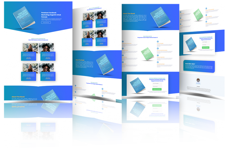 Read more about the article Download Gratis Template Landing Page WordPress Elementor