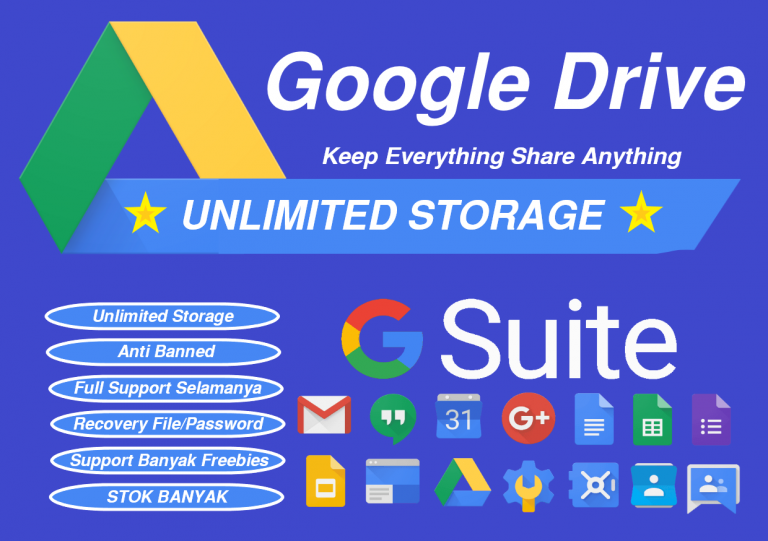 Read more about the article Cara Dapatkan Google Drive UNLIMITED