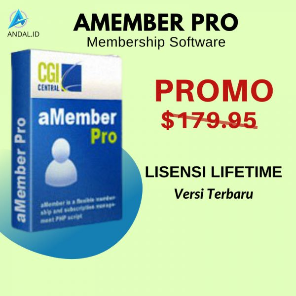 aMember Pro Membership Software Lengkap Dengan Lisensi Asli