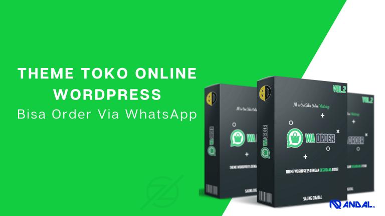 Read more about the article WA Order WordPress Theme Toko Online Bisa Order Via WhatsApp