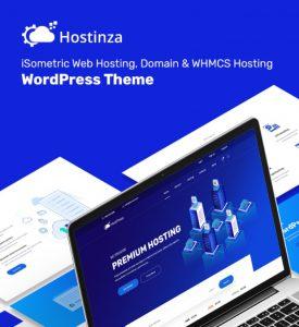 Hostinza - Tema WordPress Web-Hosting Whmcs