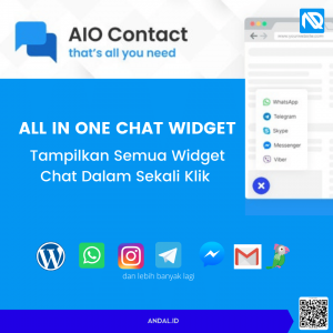 Plugin WordPress Chat AIO Contact All In One Chat Widget